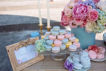 macaron mariage